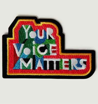 Écusson Your Voice Matters