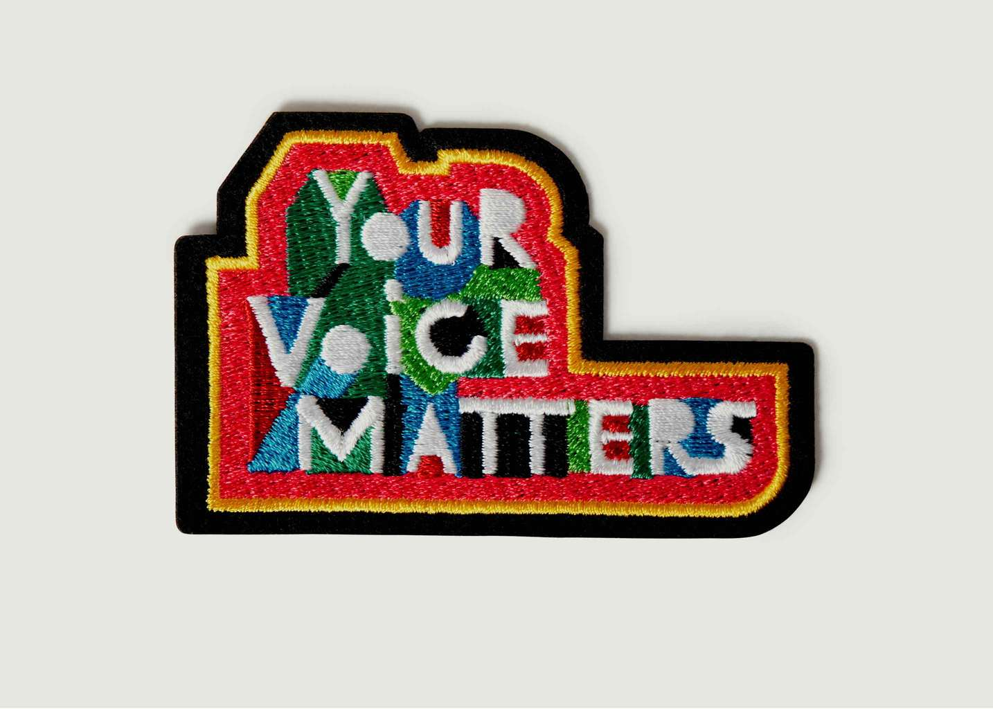 Écusson Your Voice Matters - Macon & Lesquoy