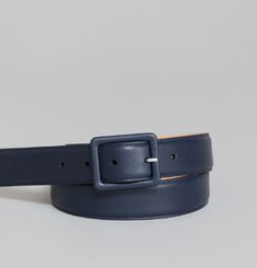 Leather Lined Buckle Belt