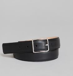 Silver Buckle Belt