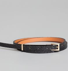 Glitter Thin Belt