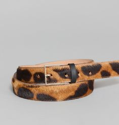 Leopard Pony Belt