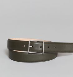Full-Grain Calfskin Belt