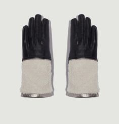 Eva Calfskin Leather Gloves