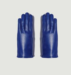Calfskin Leather Gloves