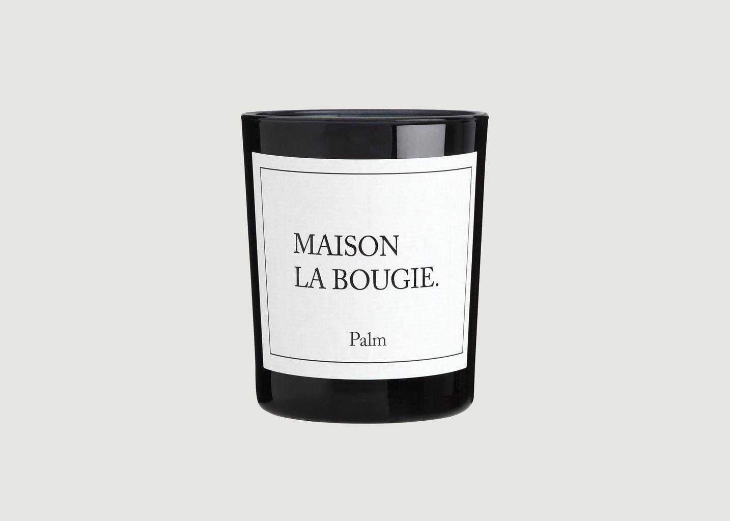 Bougie 190g Palm - Maison La Bougie