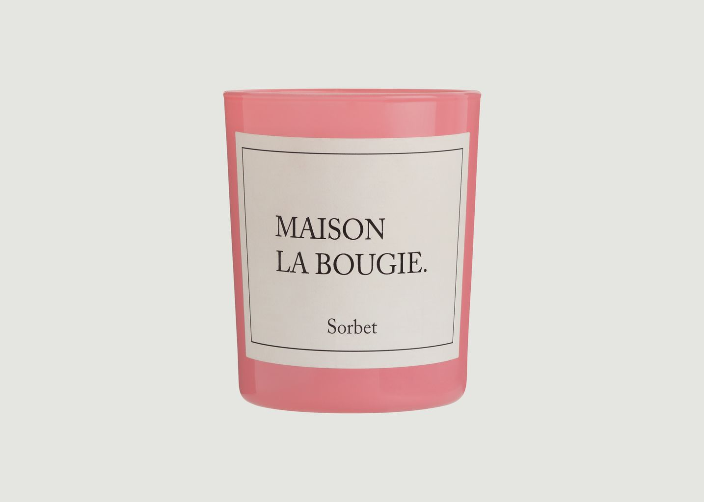 Bougie Sorbet - Maison La Bougie