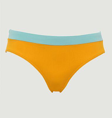Bas de maillot de bain culotte Colorblock