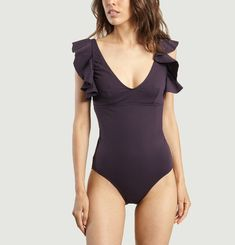 Ruffle Swimming Costume
