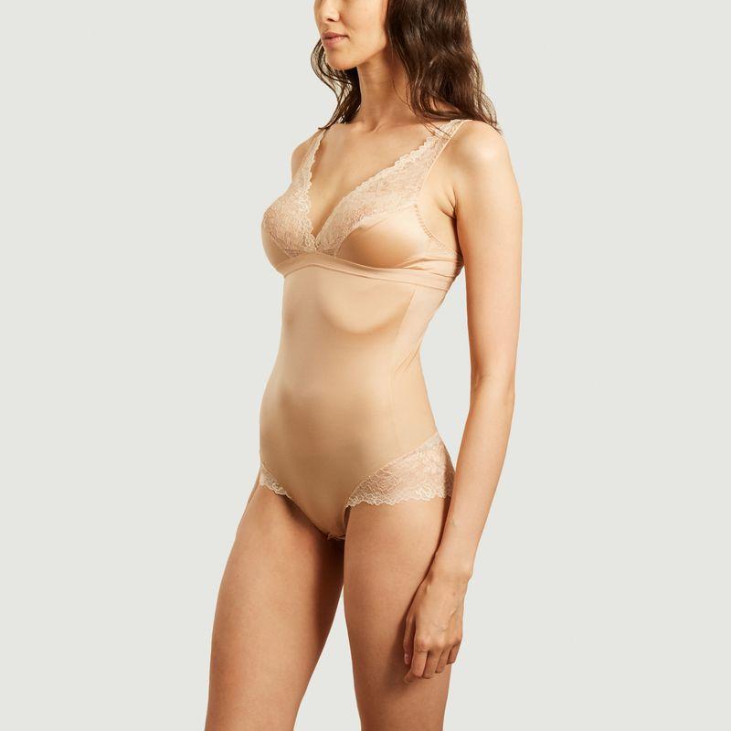 Body microfibre et dentelle sans armature Shade - Maison Lejaby