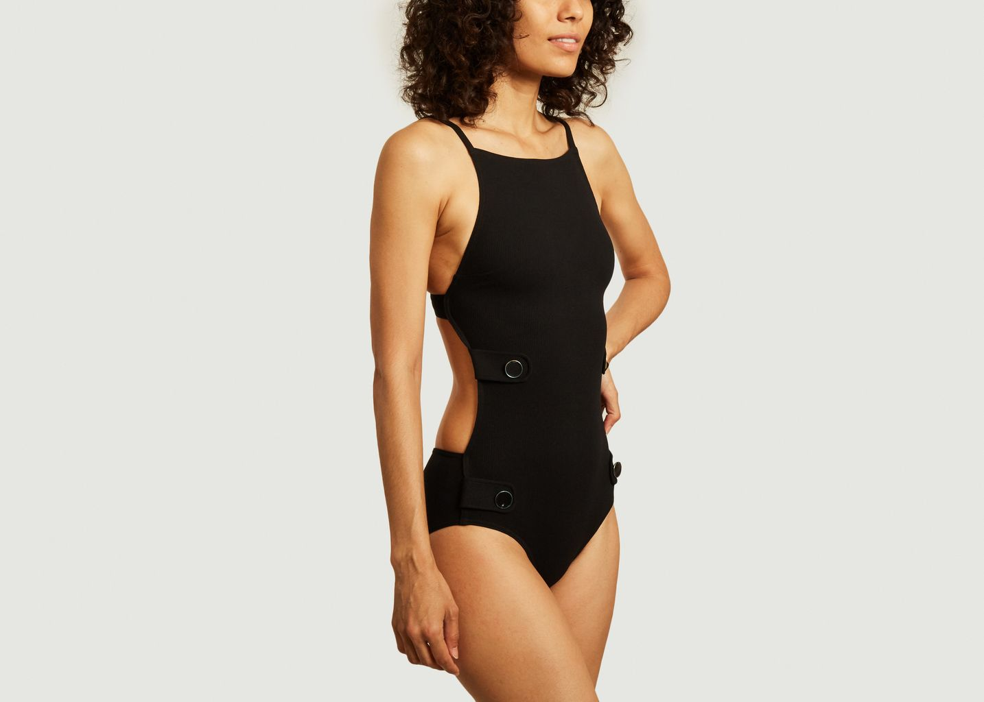 Maison Lejaby Womens Smoking Bustier Bikini Top
