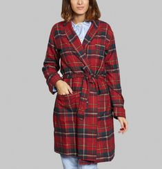 Chequered Dressing Gown