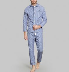 Pyjama Slim Fit Rayé