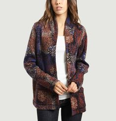 Harry Floral Jacquard Jacket