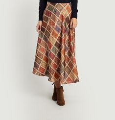 Rug Patterned Skirt
