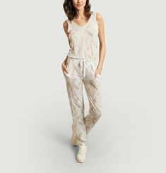 Linen jumpsuit Majestic Filatures