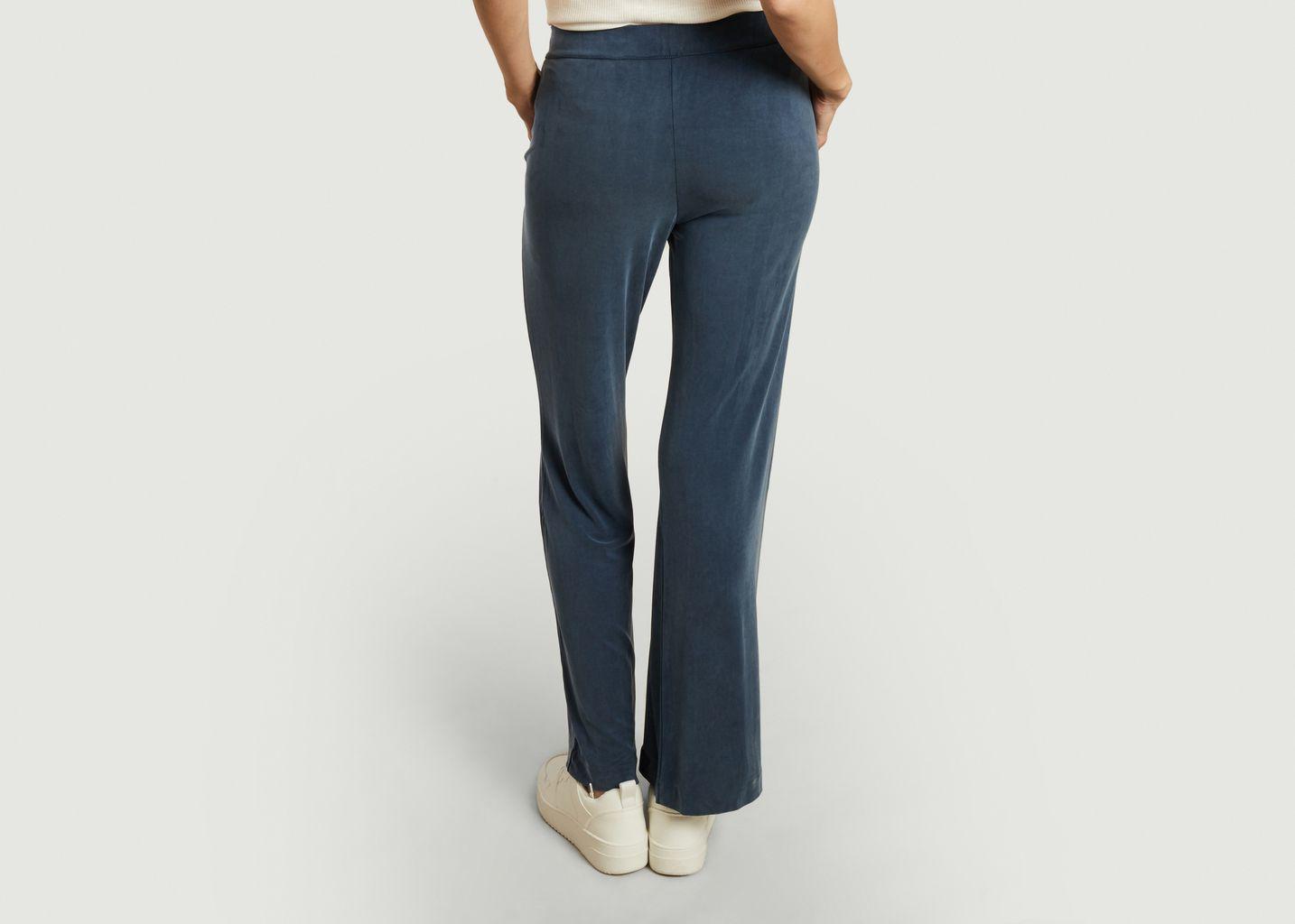 Pantalon ample en cupro stretch - Majestic Filatures