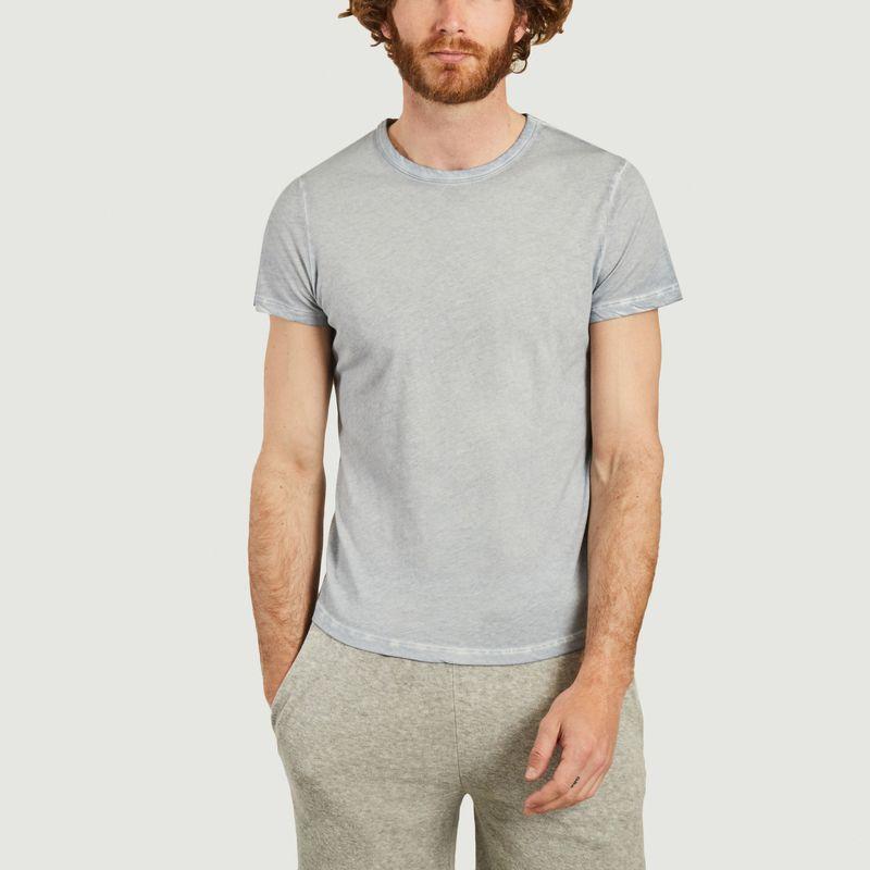 T-shirt col rond teinture artisanale - Majestic Filatures