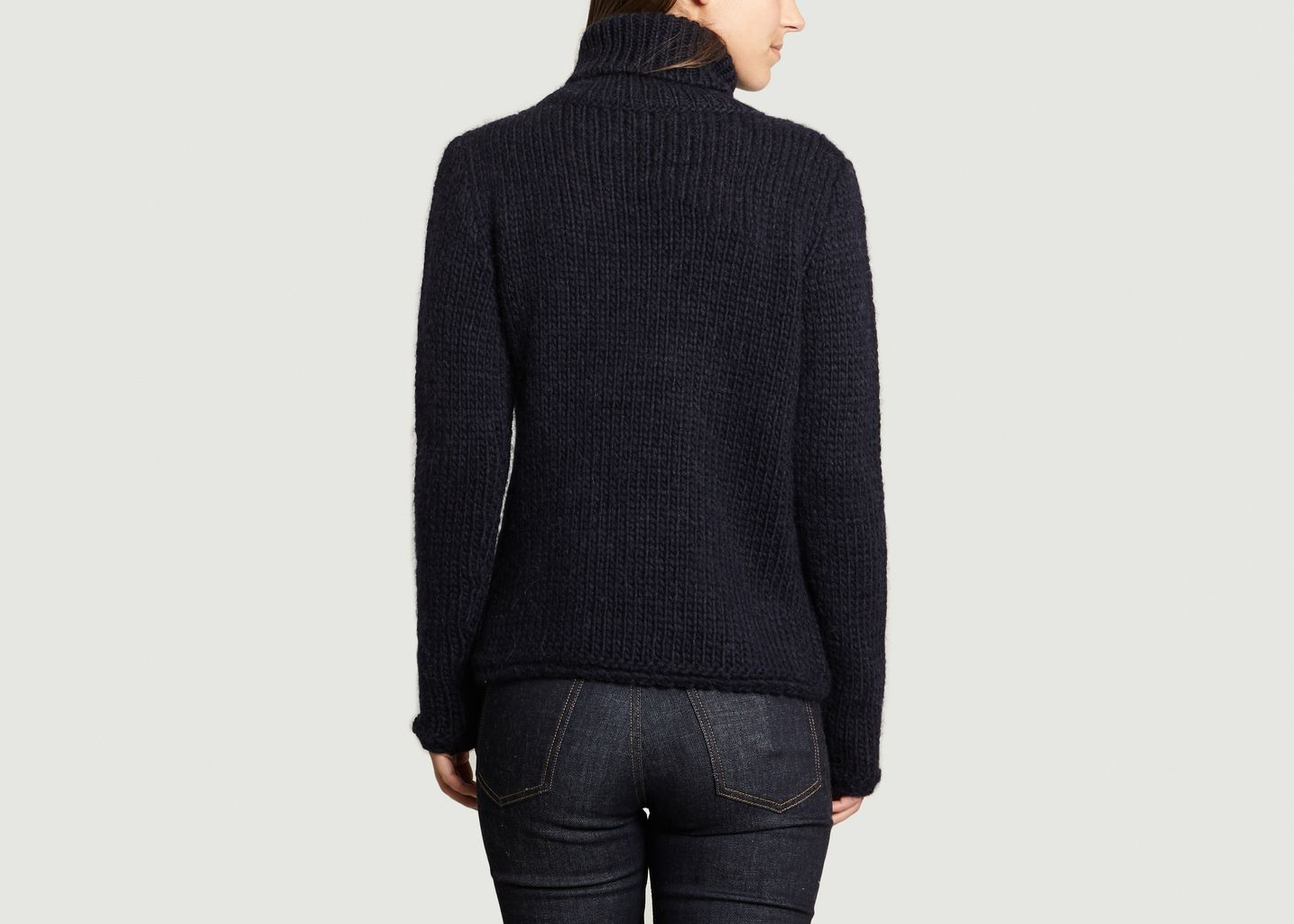 Pull Col Majestic Pull Col Filatures Roulé vq4Bx1