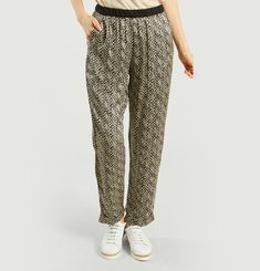 Heart Pattern Trousers