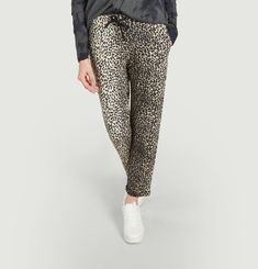 Pantalon léopard Majestic Filatures