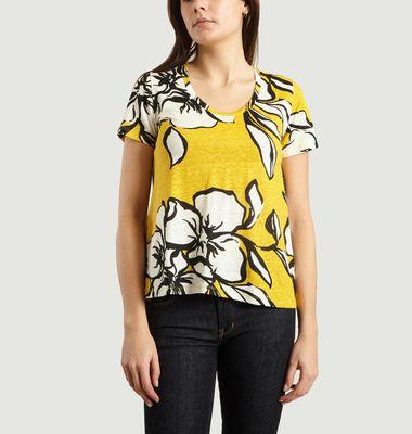T-Shirt Imprimé Floral