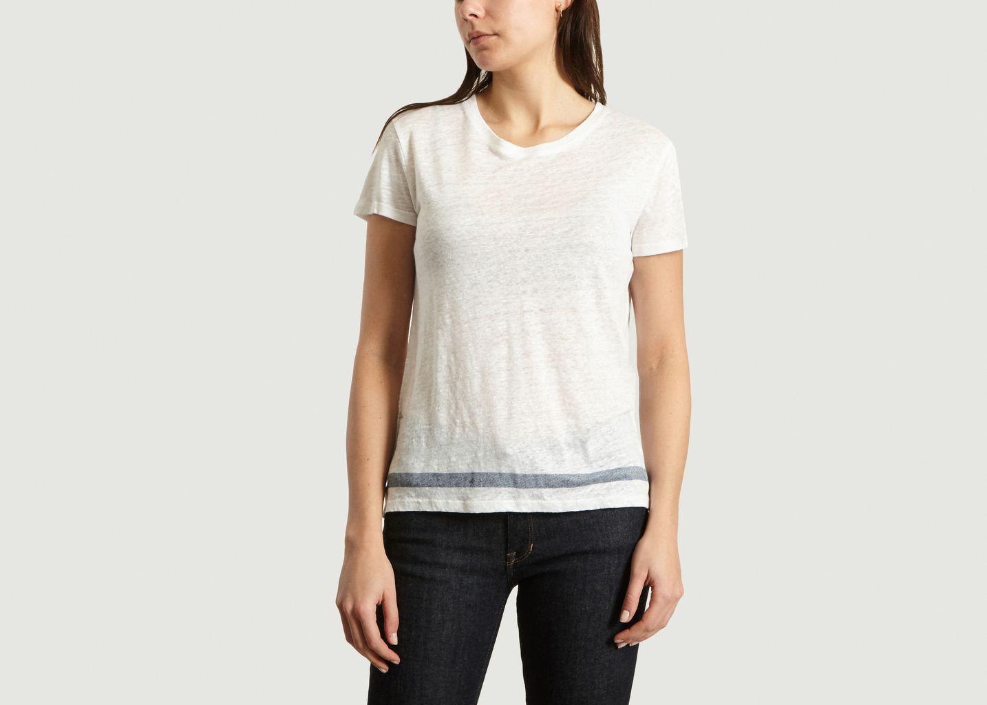 T-Shirt en Lin - Majestic Filatures