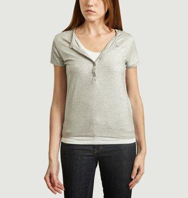 T-Shirt Double Métallisé