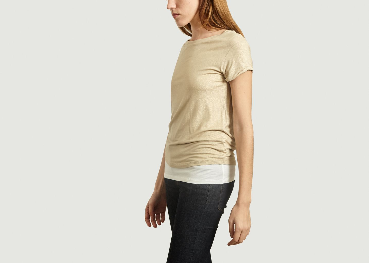 T-Shirt Double Irisé - Majestic Filatures