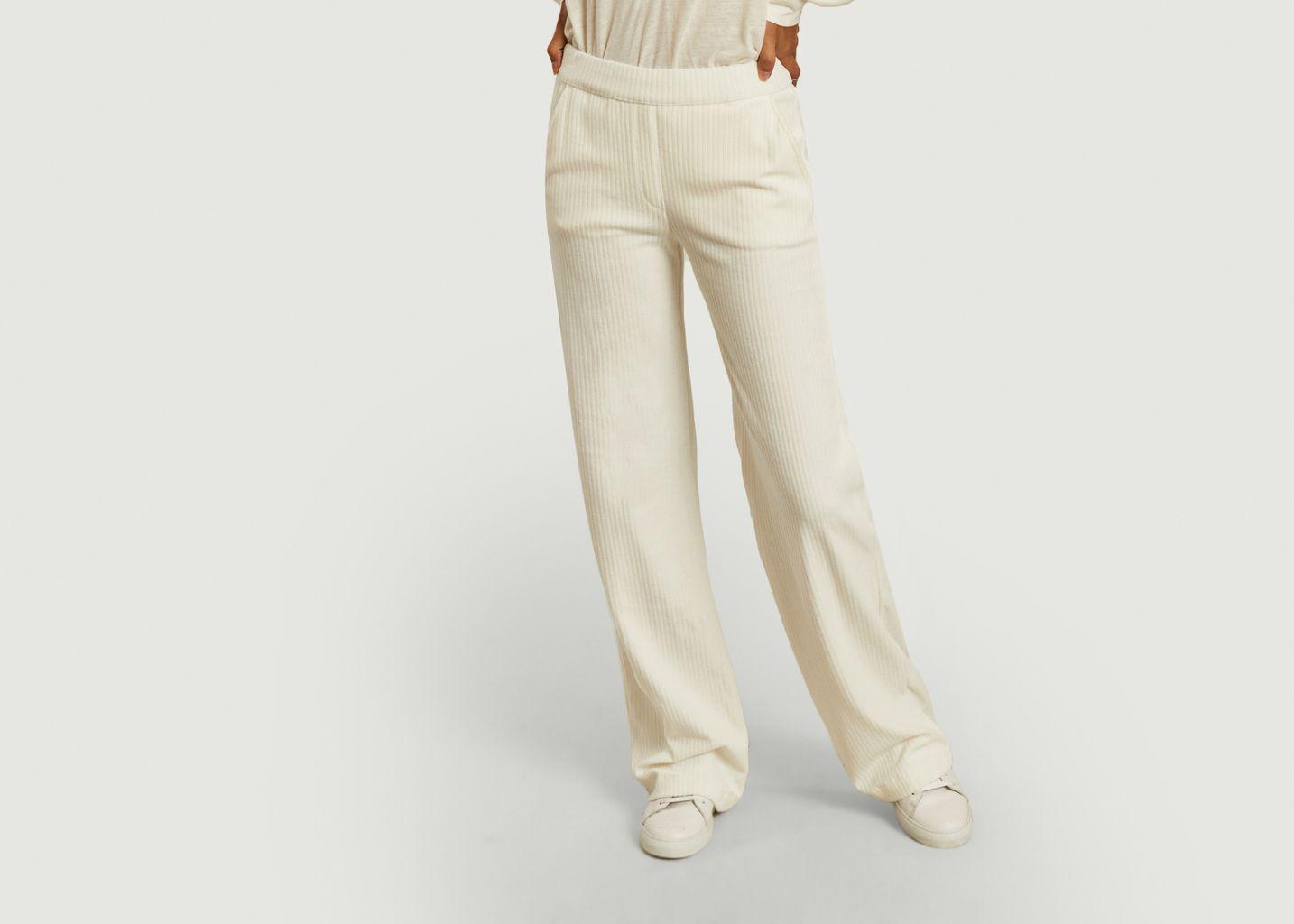 Pantalon en velours côtelé - Majestic Filatures