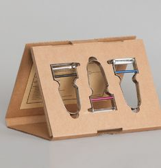 3 Vegetable Peelers Box