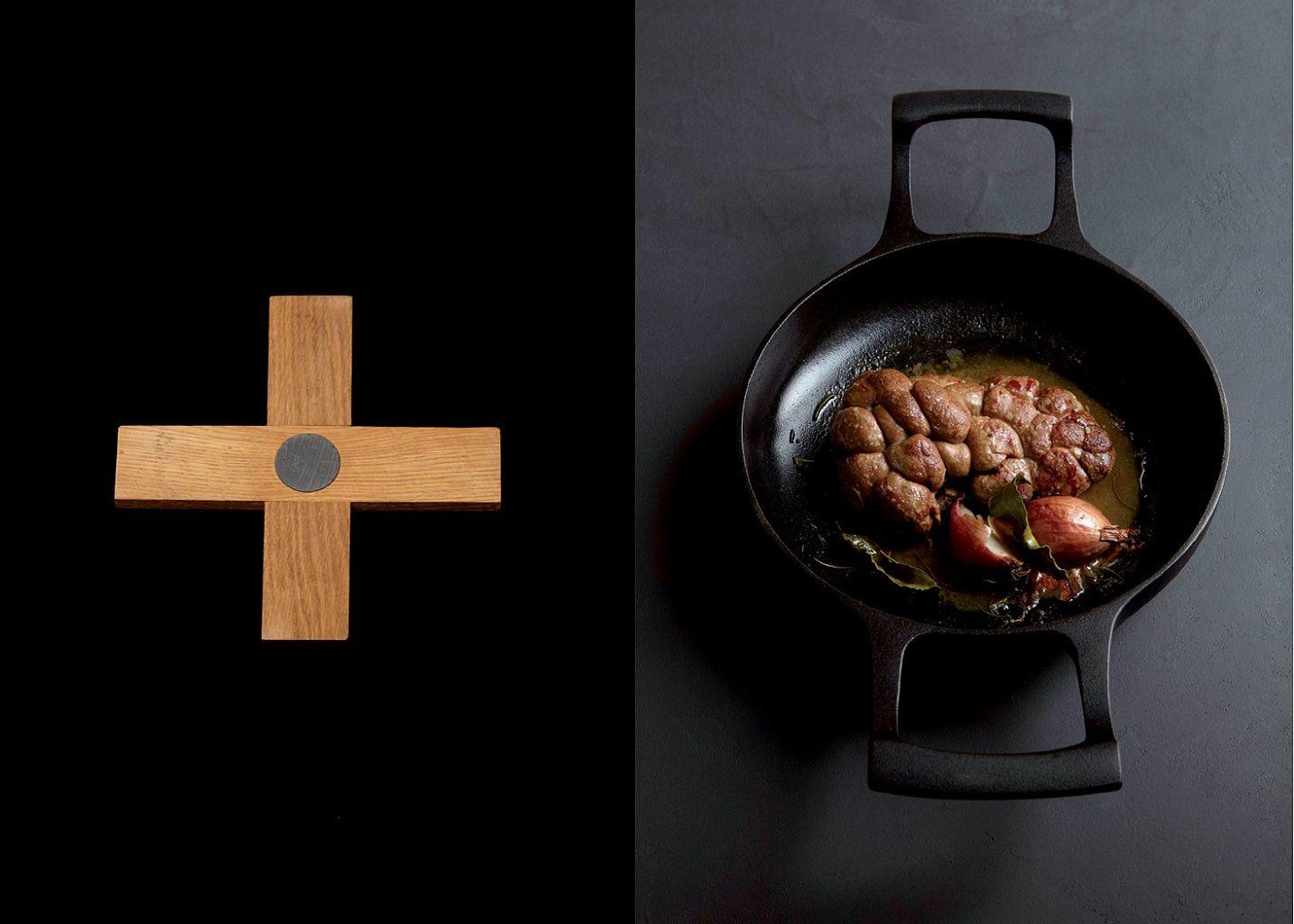 Duo Dessous De Plat Et Savon Inox - Malle W. Trousseau