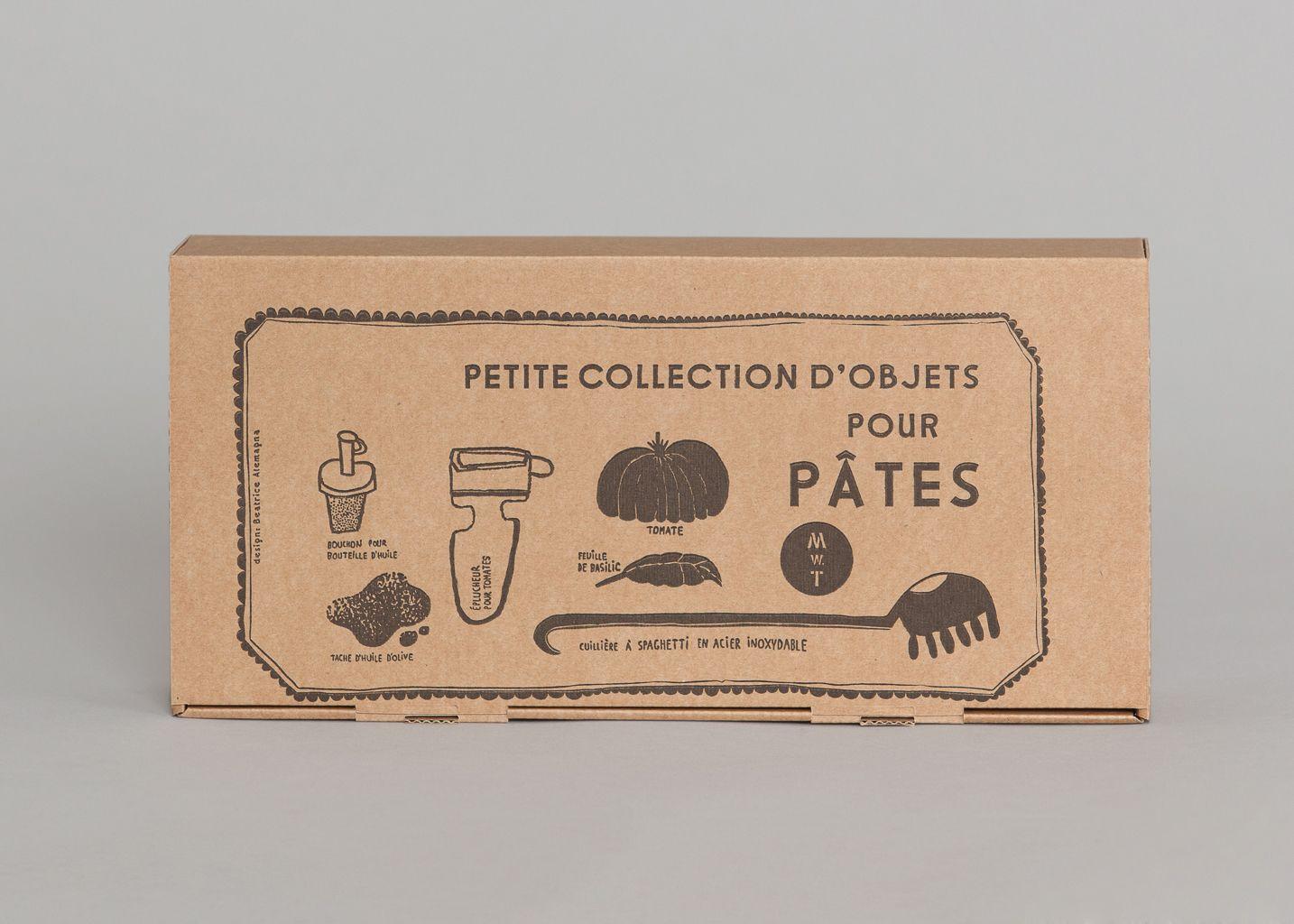 Coffret Petite Collection Pour Pâtes - Malle W. Trousseau