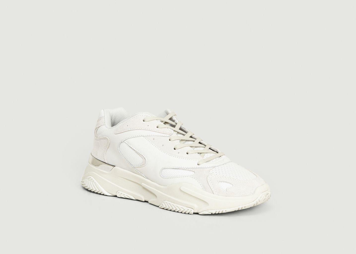 Sneakers Lurus Suède Nubuck White - Mallet Footwear