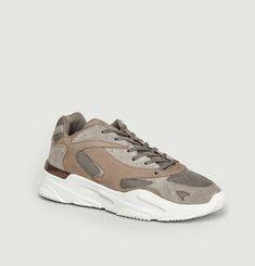Sneakers Lurus Suède Nubuck Stone White