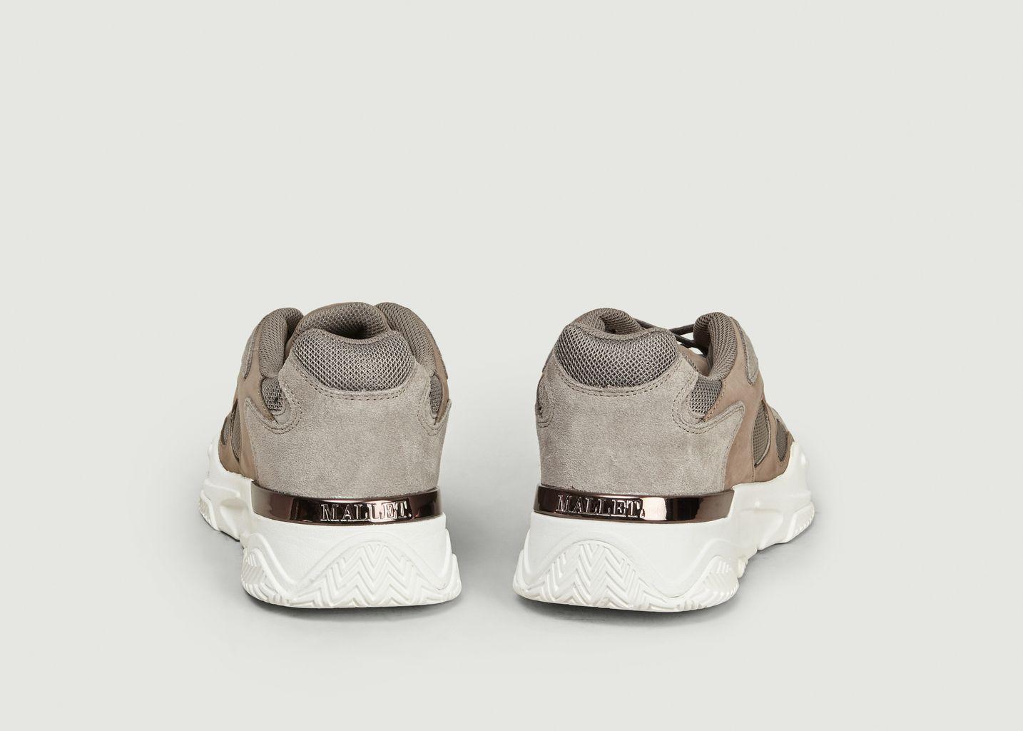 Sneakers Lurus Suède Nubuck Stone White - Mallet Footwear