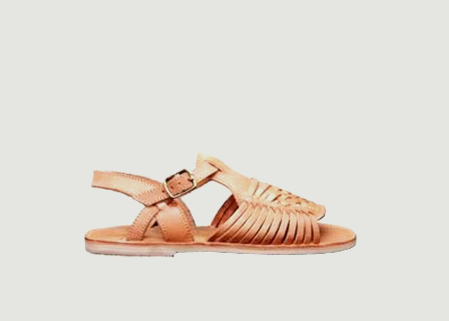 Sandale tressée Palo Alto - Mapache