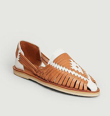Sandale tressée Ibarra