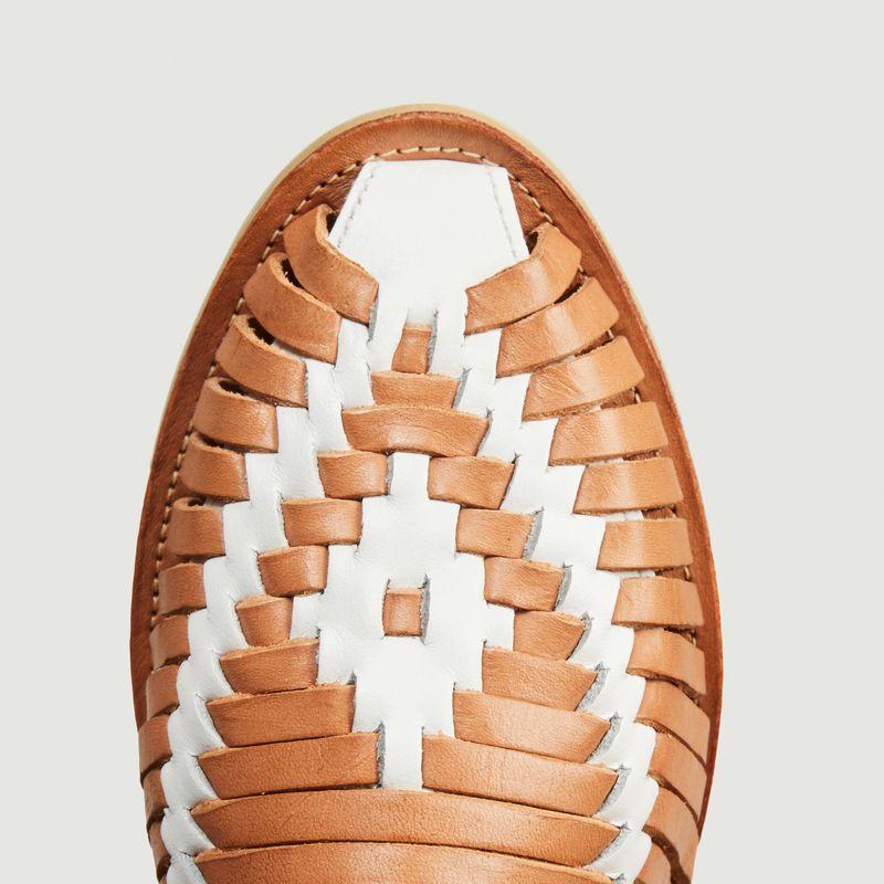 Sandale tressée Ibarra - Mapache