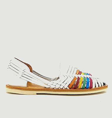 Sandale tressée Ibarra LGBT
