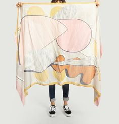 Morte Silk & Wool Blend Scarf