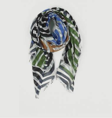 Empreinte Cotton And Silk Scarf