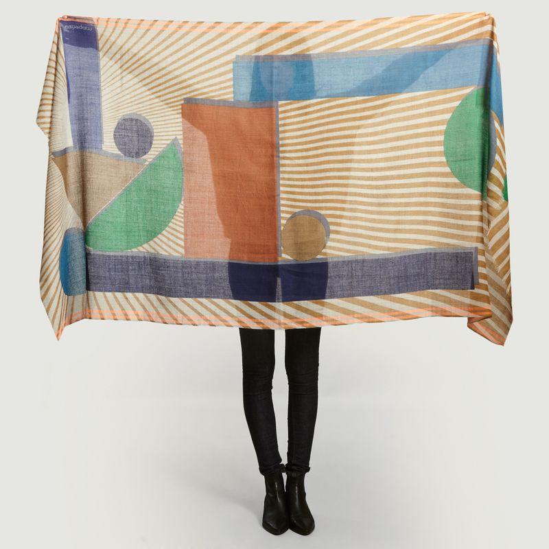 Foulard en laine Candy - Mapoésie