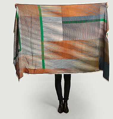 Foulard en soie Vibrant