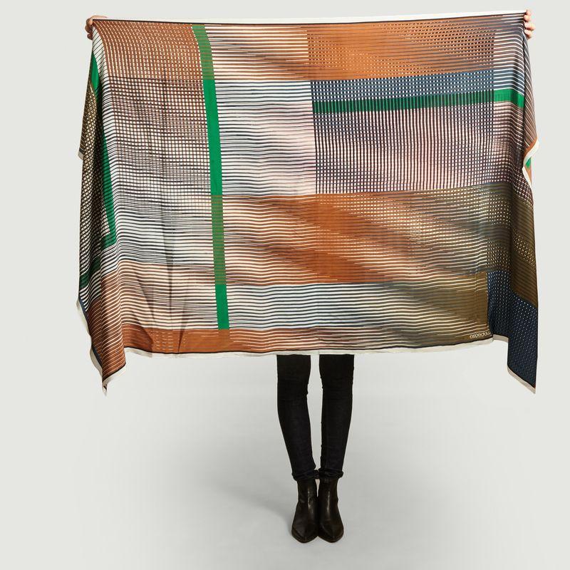Foulard en soie Vibrant - Mapoésie