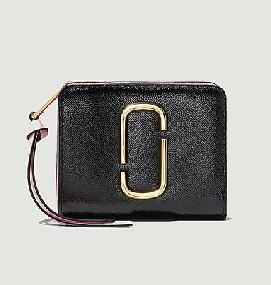 The Snapshot Mini Compact leather wallet