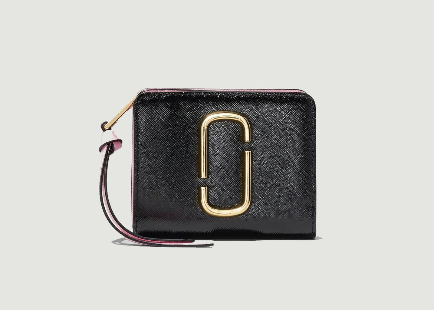 Portefeuille en cuir The Snapshot Mini Compact - The Marc Jacobs