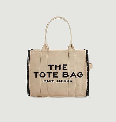 Tote bag jacquard large