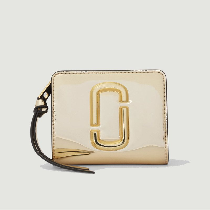 Portefeuille The Snapshot Mirrored Mini Compact - The Marc Jacobs