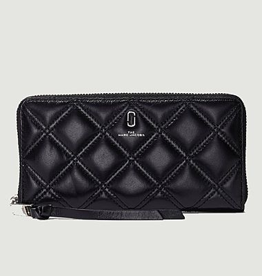 Portefeuille The Quilted Softshot Standard Continental